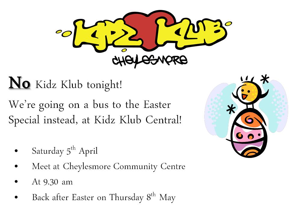 No Kidz Klub Poster
